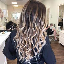 balayage cheveux, balayage blonde, Coiffure EG Beauté, balayage beloeil,