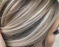 mèche cheveux, mèche blonde, coiffure, coupe femme, cheveux femme,