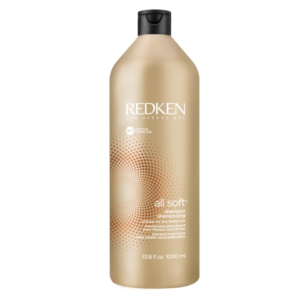 Shampooing All Soft 1L, Shampooing cheveux secs, Shampooing Redken, Shampooing hydratant, Shampooing doux