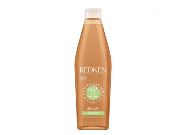 Shampooing Vegan, Shampooing Nature+ScienceShampooing All Soft 300ml, Shampooing cheveux secs, Shampooing Redken, Shampooing hydratant, Shampooing doux, coiffure eg beauté
